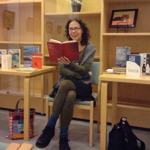 Iitin kirjastossa marraskuussa 2015 (Kuva: Hanna Huovinen)